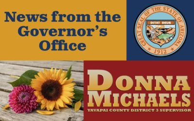 News from the Governor's Office