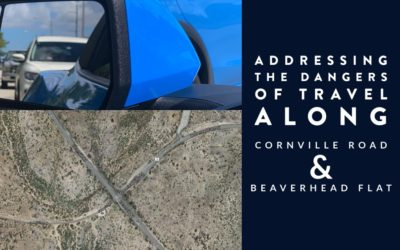 Addressing The Traffic Concerns on Cornville and Beaverhead Flat Roads