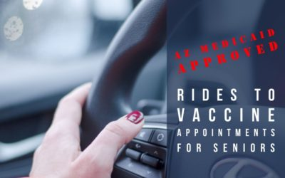 AZ Medicaid approves Payment for Rides to Vaccine Appointments for Seniors