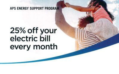 APS Assists qualifying customers with paying Electric Bill