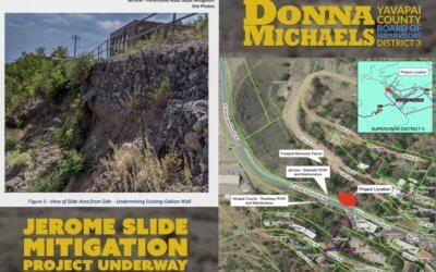 Jerome Slide Mitigation Project Underway